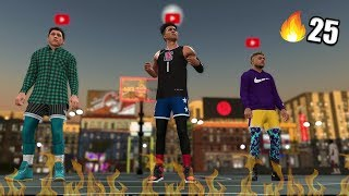 THE *BEST* SLASHER BUILD IN THE GAME! Streaking W 2HYPE! NBA 2K19 MyPark #1