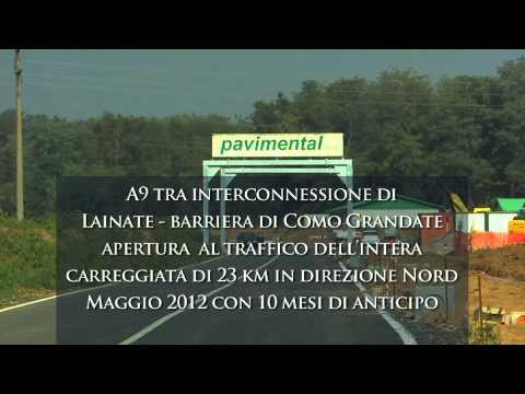 Terza corsia sull'A9 Milano-Como, i dettagli