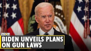 Joe Biden calls for ban on assault weapons | US gun laws | Ghost guns | Latest English World News