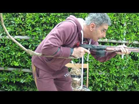 Cibo con a caccia e pesca di video