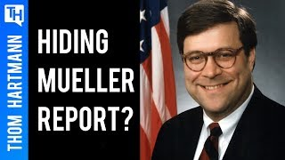 Will Barr Hide Trump's Un-Indicted Crime?