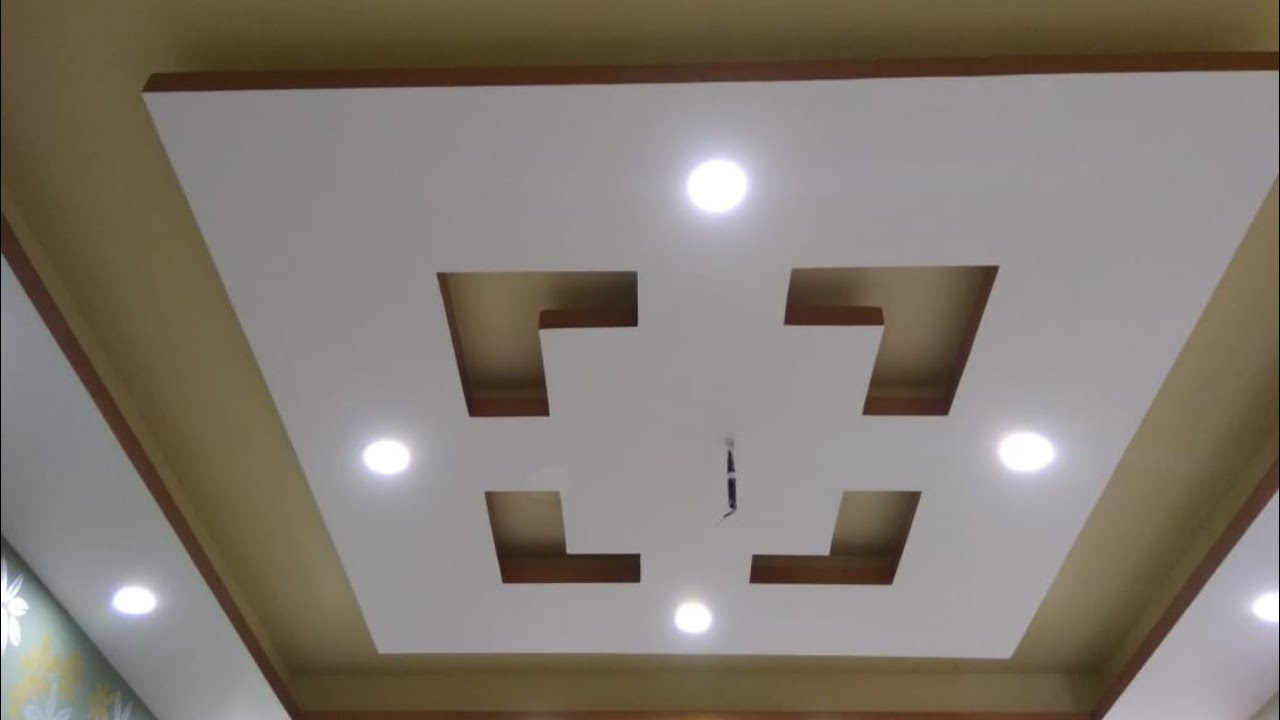 P O P False Ceiling Design For Bedroom Rk P O P
