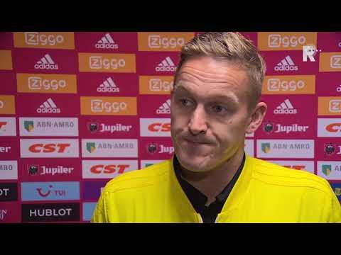 Toornstra over Ajax-Feyenoord: 'Na rode kaart was het klaar'