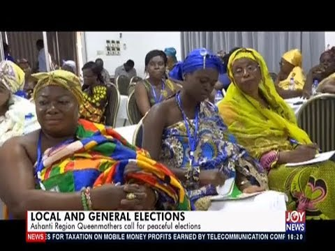 Local and General Elections - News Desk on JoyNews (15-11-19)