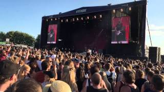 Dizzy Mizz Lizzy - Waterline @ Northside Festival 2015