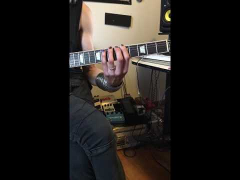 I'm coaching a new beginning student in basic technique exercises on guitar at my home studio. He has since made tremendous progress