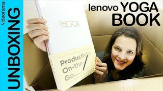 Lenovo Yoga Book unboxing preview en español