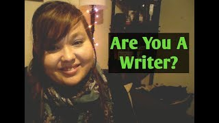 Are You Are A Writer