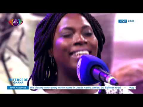 Edinam Bright-Davies leads praise and worship | Intercede Ghana