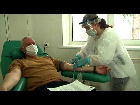 Курские врачи сдали кровь