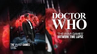 Doctor Who - The War Games - Artwork Time Lapse
