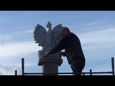 Budowa pomnika z okazji 100-lecia odzyskania przez Polskę niepodległości