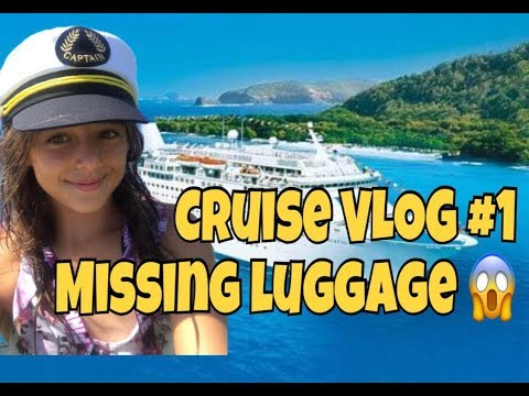 Cruise VLOG # 1 – MISSING LUGGAGE – life aboard P and O Pacific Dawn Cruise Ship 🚢
