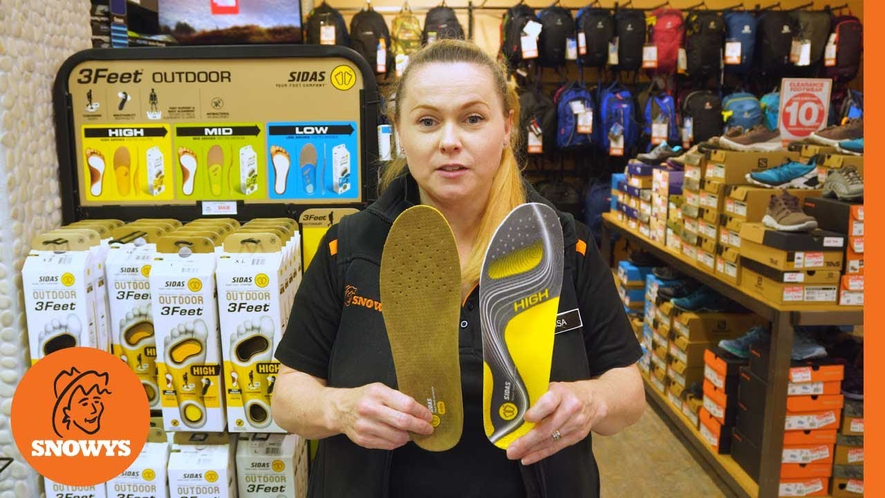 3 Feet Outdoor Insole High