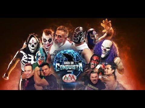 Gira de la Conquista AAA en Tijuana 20 de Abril 2018