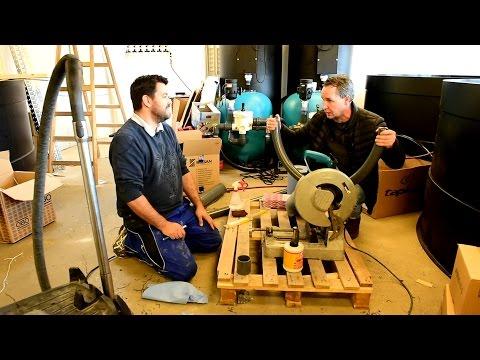 Modern Koi Blog #1463 - Sascha erklärt wie man PVC Schlauch verklebt