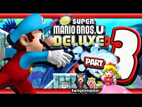 New Super Mario Bros U Deluxe Walkthrough By Kwingsletsplays Game
