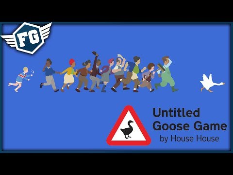 HUSA DĚLÁ BORDEL - Untitled Goose Game