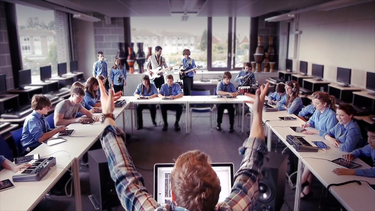 I Wish My High School Music Class Jammed With 24 iPads