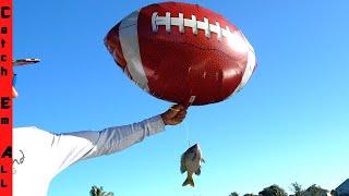 FISH GO FLYING! **Using Balloon Fishing Technique**