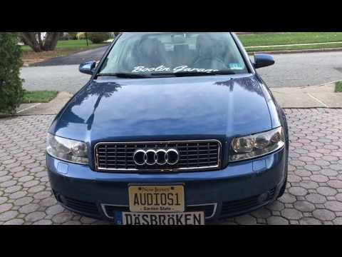 How To Replace Audi A4 B6 Grille
