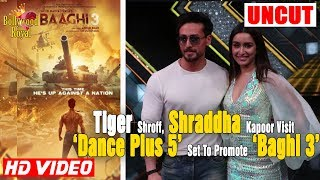 Tiger Shroff, Shraddha Kapoor Visit 'Dance Plus 5' Set To Promote 'Baghi 3'