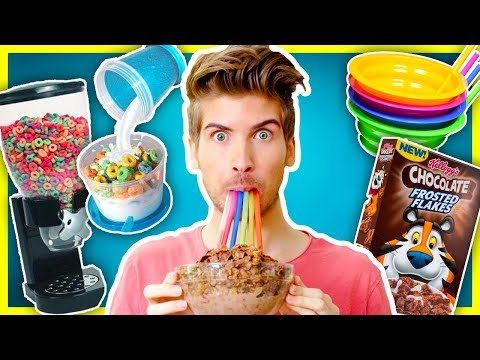 5 CEREAL GADGETS PUT TO THE TEST!
