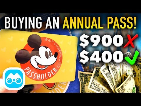 BUYING an ANNUAL PASS in Walt Disney World! - Disney Vlog #5