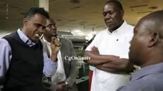 BASHE NA RC MWANRI WALIVYO  TINGA USIKU KIWANDA CHA NYUZI TABORA, MWEKEZAJI ATIMUA MBIO