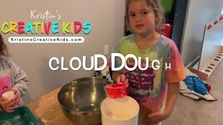 Homemade Kinetic Sand Cloud Dough