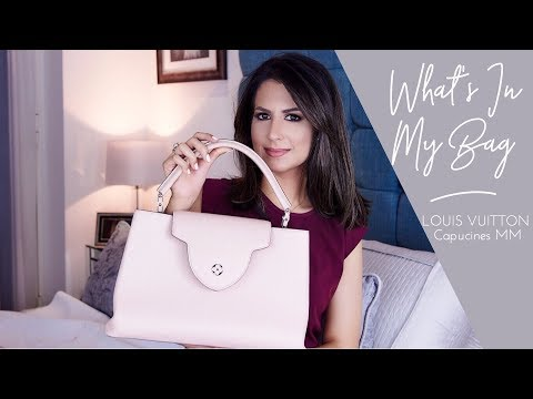 WHAT'S IN MY BAG | LV Capucines MM Review | JASMINA PURI