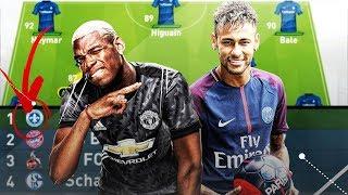 KÖNNTE DAS TEUERSTE TEAM ALLER ZEITEN DAS TRIPLE GEWINNEN??!! FIFA 17 EXPERIMENT#31