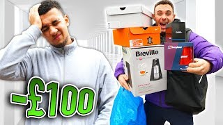 I Gave My Best Friend One Hour To Spend £100   Challenge