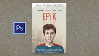 How to Use Indie Movie Poster PSD Template