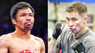 Manny Pacquiao REJECTS CRAZY Idea Of Fighting Gennady Golovkin  🥊