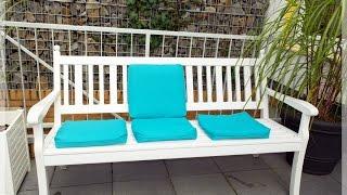 Bezüge für Polster Garten - Terrassenstühle nähen für Anfänger