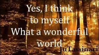 What A Wonderful World - Joey Ramone - Lyrics