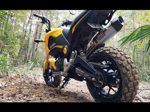 ChixReview: Offroad Review of Grom Maxxis M6024 Tire – Trails and MX Track