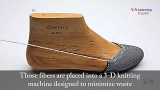 Footwear Made from Recycled Water Bottles