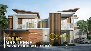 Video Mrs. Irene Modern House 2 Floors Design - Badung, Bali