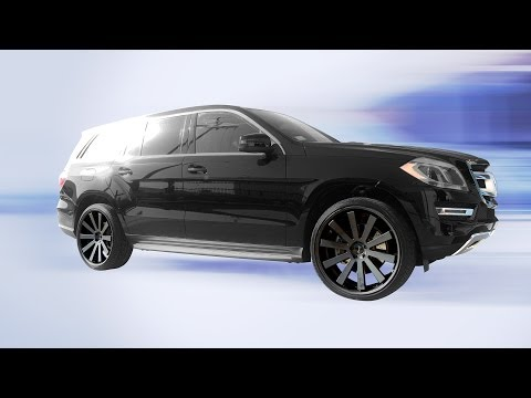 24x10 Gianelle Santo S22 Wheels on 2013 Mercedes-Benz GL-450 4Matic SUV