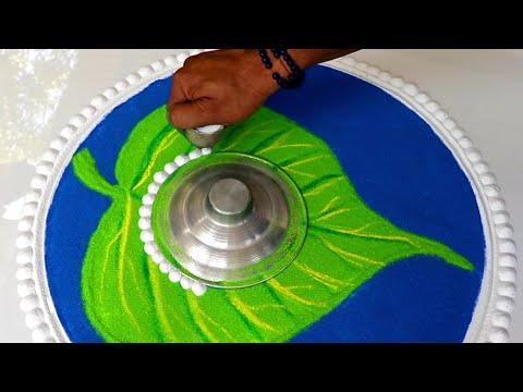 tamil new year rangoli design by jeet rangoli