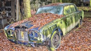 Abandoned Bentley and Rolls Royce. Most Exotic Abandoned Cars.