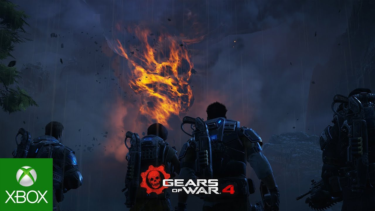 Видео-ролик Gears of War