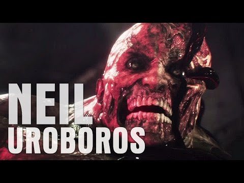 Resident Evil: Revelations 2 - Neil's transformation to Uroboros monster