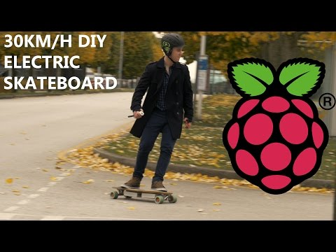 This DIY Electric Skateboard Is Powered By A Raspberry Pi Zero