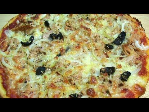 Пицца с тунцом, луком и моцареллой рецепт (Pizza tonno)