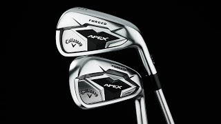 Apex 19 Smoke 4-PW Iron Set w/ True Temper Catalyst Graphite Shafts-video