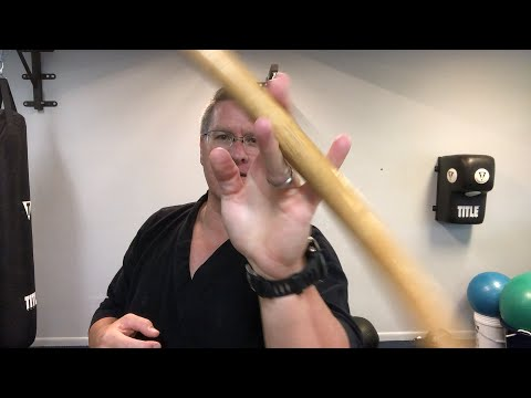 Long Martial Arts Stick Training - YouTube