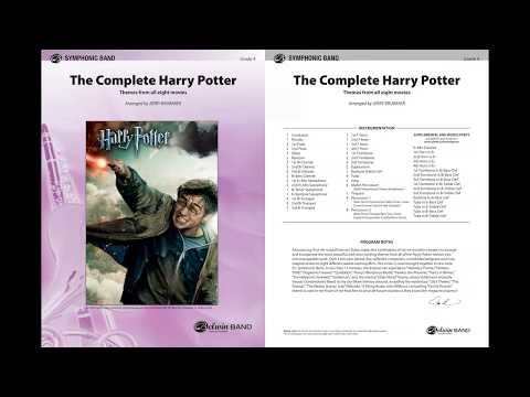 The Complete Harry Potter, arr. Jerry Brubaker – Score & Sound